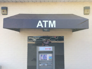 Raleigh awning cover ATM machine